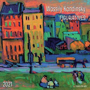 Wassily Kandinsky - Figuratives Kalendar 2021