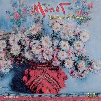 Claude Monet - Blossoms & Flowers Kalendarz 2021