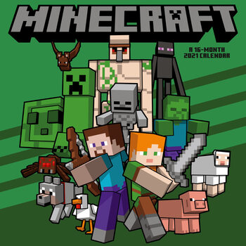 Minecraft Kalendarz 2021