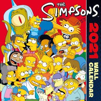 Simpsonowie Kalendarz 2021