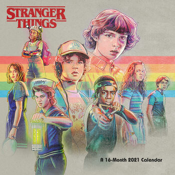 Stranger Things Kalendarz 2021