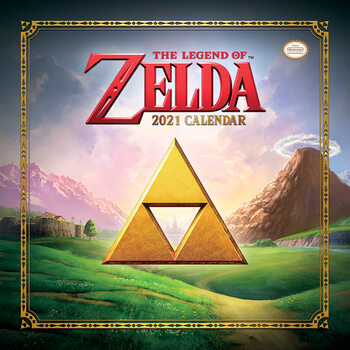 The Legend of Zelda Kalendarz 2021