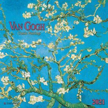 Vincent van Gogh - Classic Paintings Kalendarz 2021