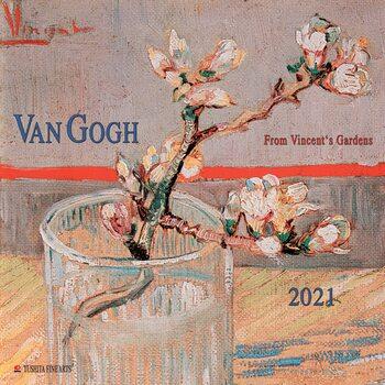 Vincent van Gogh - From Vincent's Garden Kalendarz 2021