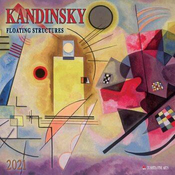 Wassily Kandinsky - Floating Structures Kalendarz 2021