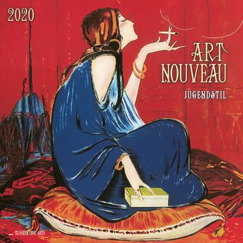 Art Nouveau Kalendarz 2020