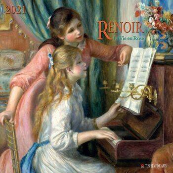 Auguste Renoir - La Vie en Rose Kalendarz 2021