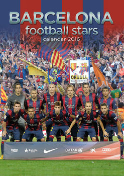 Barcelona Football Kalendarz 2017