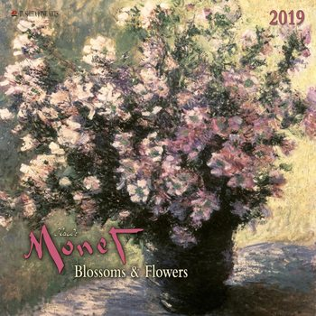 C. Monet - Blossoms & Flowers Kalendarz 2019