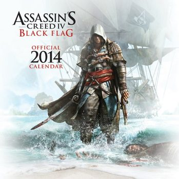 Calendar 2014 - Assasin's Creed IV Black Flag Kalendarz 2017