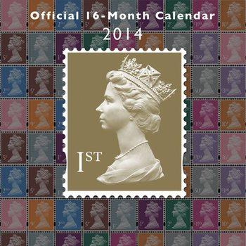 Calendar 2014 - ROYAL MAIL Kalendarz 2017