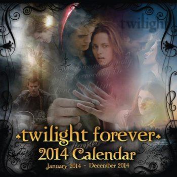 Calendar 2014 - TWILIGHT forever Kalendarz 2017