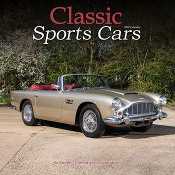 Classic Sports Cars Kalendarz 2021