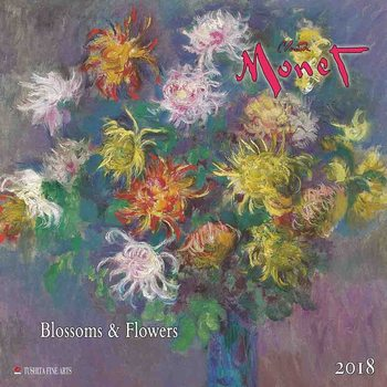 Claude Monet - Blossoms & Flowers  Kalendarz 2018
