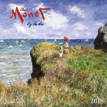 Claude Monet - By the Sea Kalendarz 2018