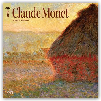 Claude Monet Kalendarz 2018