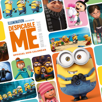 Despicable Me Kalendarz 2019