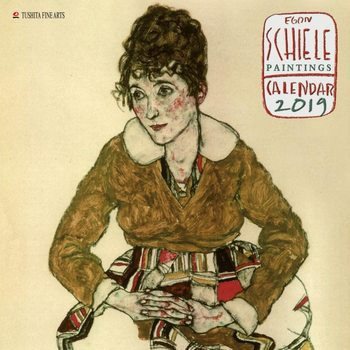 Egon Schiele - Paintings Kalendarz 2019