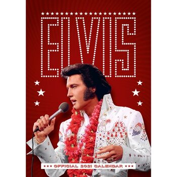 Elvis Presley Kalendarz 2021