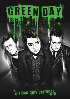 Green Day Kalendarz 2019