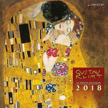 Gustav Klimt Kalendarz 2018