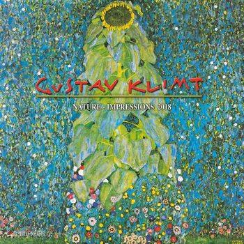 Gustav Klimt - Nature Impressions  Kalendarz 2018