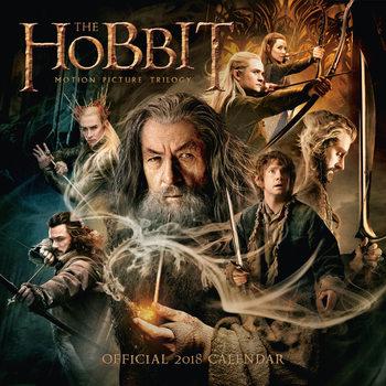 Hobbit Kalendarz 2018