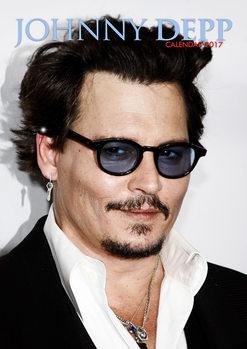 Johnny Depp Kalendarz 2017