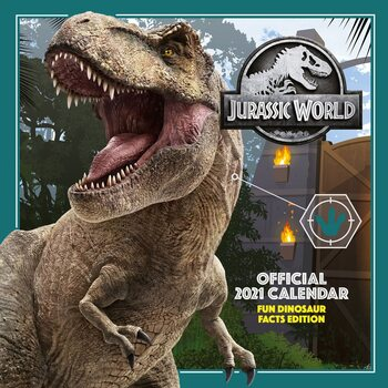 Jurassic World Kalendarz 2021