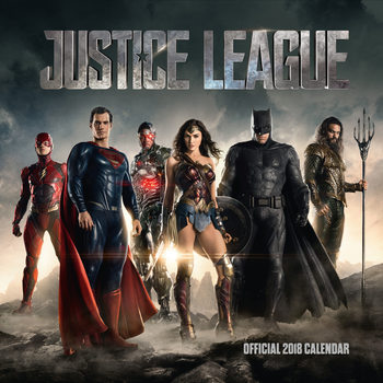 Justice League Kalendarz 2018