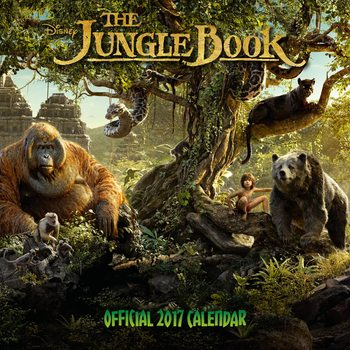 Księga dżungli Kalendarz 2017