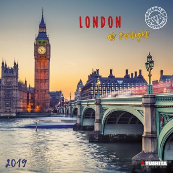London at Twilight Kalendarz 2019
