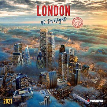 London at Twilight Kalendarz 2021