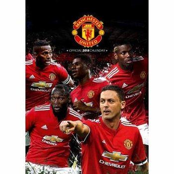 Manchester United Kalendarz 2018