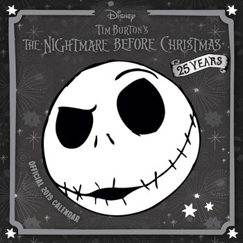Nightmare Before Christmas Kalendarz 2019