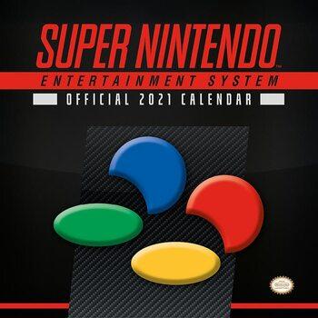 Nintendo - SNES Kalendarz 2021