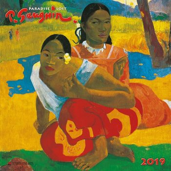 Paul Gaugin - Paradise Lost Kalendarz 2019