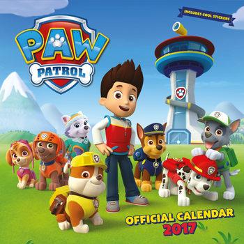 Paw Patrol Kalendarz 2017