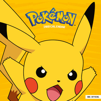 Pokemon Kalendarz 2018