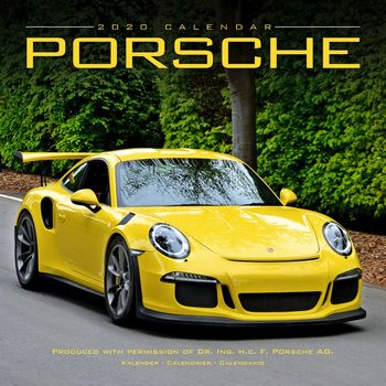 Porsche Kalendarz 2021
