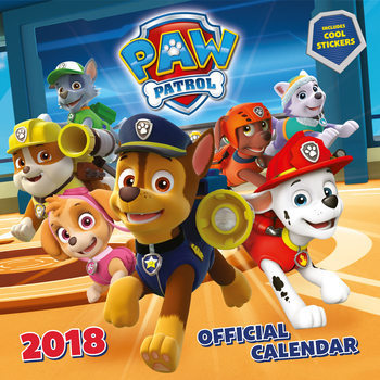 Psi patrol Kalendarz 2018