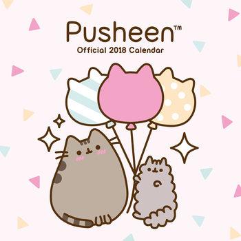 Pusheen Kalendarz 2018
