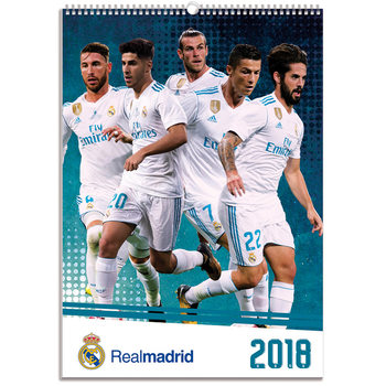 Real Madrid Kalendarz 2018