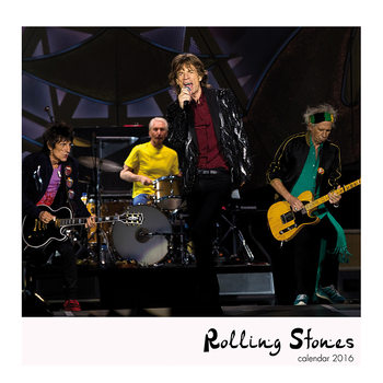 Rolling Stones Kalendarz 2017