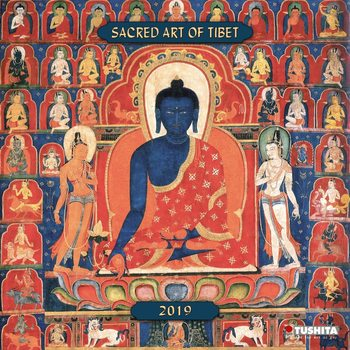 Sacred Art of Tibet Kalendarz 2019
