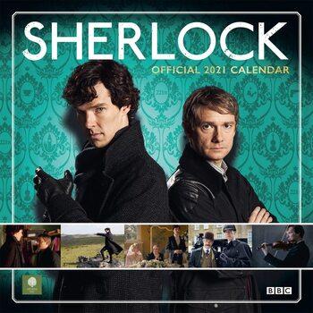 Sherlock Holmes Kalendarz 2021