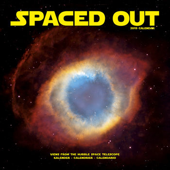 Spaced Out Kalendarz 2019