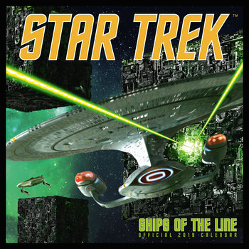 Star Trek - Ships Of The Line Kalendarz 2019