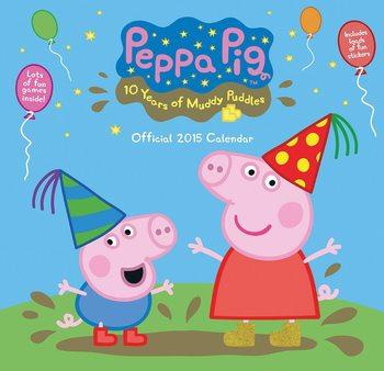 Świnka Peppa - Peppa Pig Kalendarz 2021