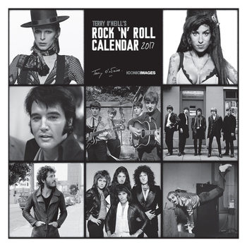 Terry O'Neill's Rock 'n' Roll  Kalendarz 2017